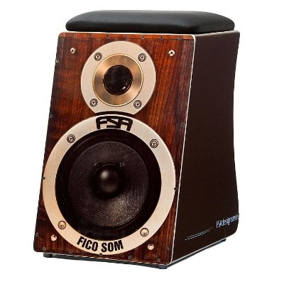 Cajon Eletroacústico FSA Design Speaker FC6619
