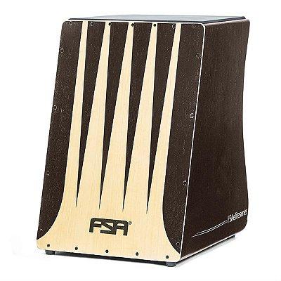 Cajon Eletroacústico FSA Elite Tabaco FE3305