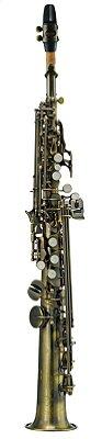 Sax Soprano Michael WSSM 46 BB Escovado