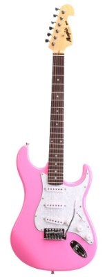 Guitarra Tagima Memphis Strato MG 32 Pink