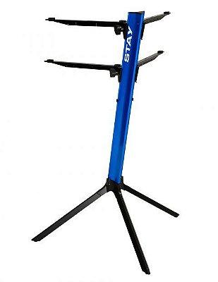 Suporte Teclado Duplo Stay Slim 1100/2 Azul