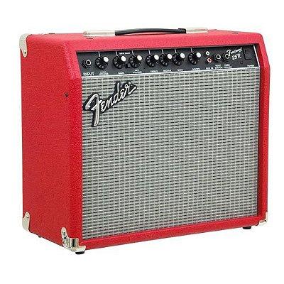 Amplificador Guitarra Fender Frontman 25R 25W Vermelho
