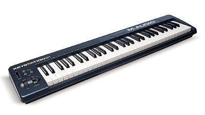 Teclado Controlador M Audio Keystation 61 II, 61 teclas USB