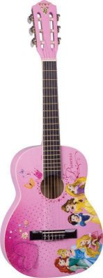Violão Acústico Infantil Phoenix Disney Princess VIP-3