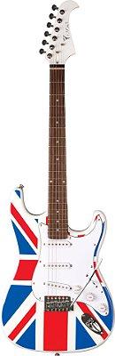 Guitarra Eagle STS-001 UK Flag