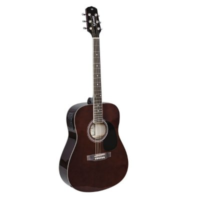 Violão Eletroacústico Folk Giannini GD-1 EQ TDW Translucent Dark Wine
