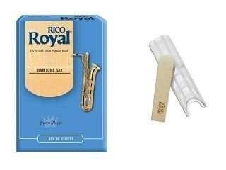 Palheta Saxofone Baritono Rico Royal
