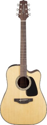 Violão Eletroacústico Takamine Dreadnought GD12CE Natural Fosco