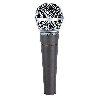 Microfone Shure SM-58 LC, com fio