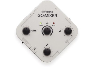Interface de Áudio para Smartfones Roland Go:Mixer