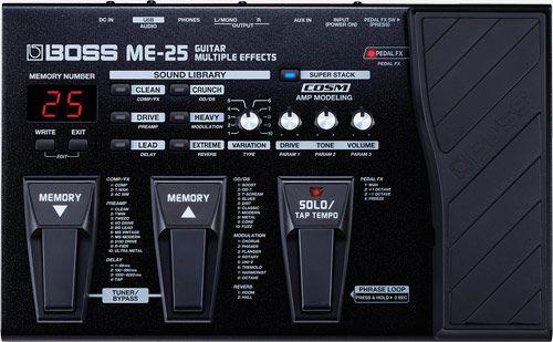Pedaleira para Guitarra Boss ME-25