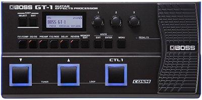 Pedaleira para Guitarra Boss GT-1 | Processador de Efeitos
