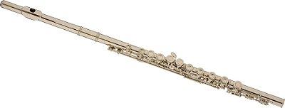 Flauta Transversal Eagle FL03 Dó Niquelada