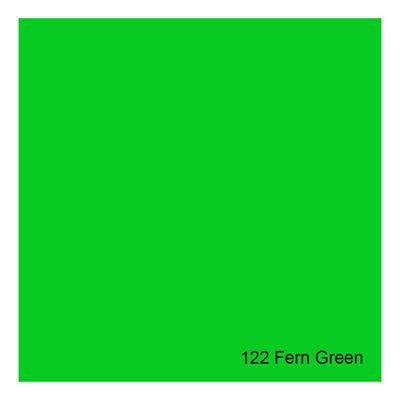 Gelatina para Refletores Rosco E-Colour 122 Fern Green