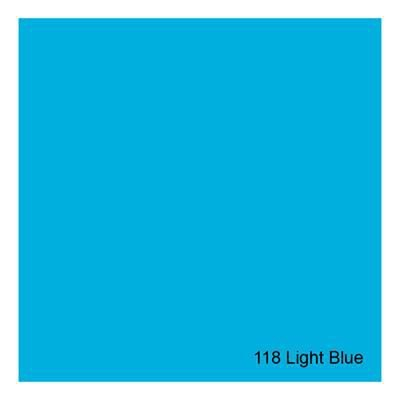 Gelatina para Refletores Rosco E-Colour 118 Light Blue