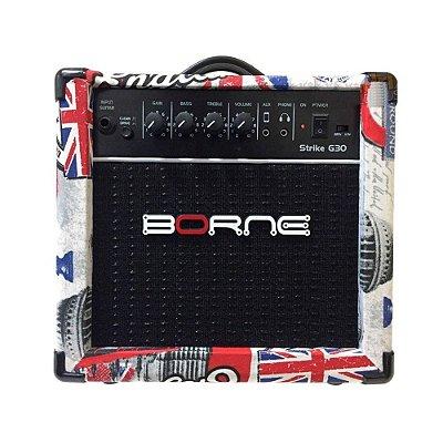 Amplificador Guitarra Borne Strike G30 London