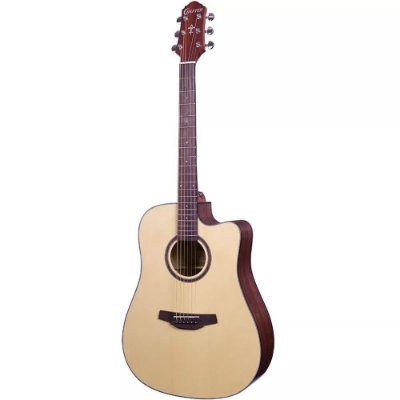 Violão Eletroacústico Crafter HD-100 Natural, com bag