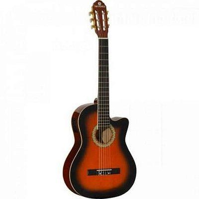 Violão Eletroacústico Harmonics GE-20 Sunburst Nylon