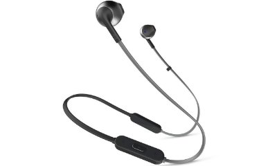Fone de Ouvido Bluetooth In-Ear JBL Tune 205BT Preto