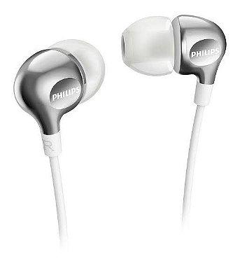 Fone de Ouvido In-Ear Philips SHE3700 Branco