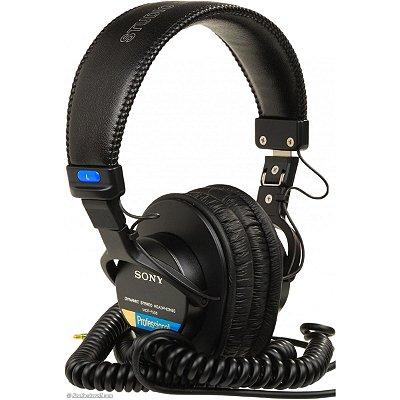 Fone de Ouvido Over-Ear Sony MDR-7506