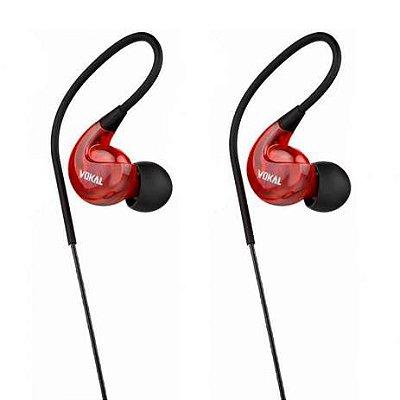 Fone de Ouvido In-Ear Sony VOKAL E40 Vermelho