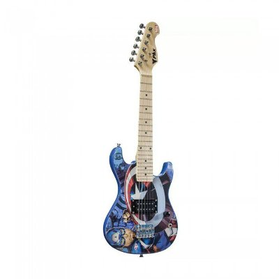 Guitarra Phoenix Infantil Capitão América GMC-K2