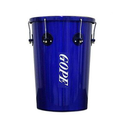 Rebolo Gope Cônico Alumínio 45X12 Couro Selfie Azul