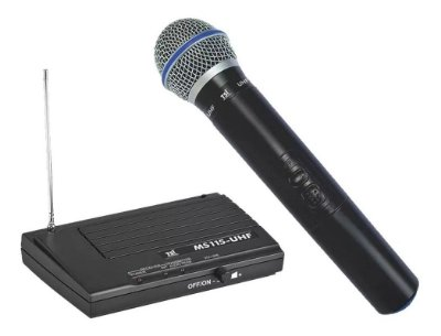 Microfone TSI MS-115 UHF Sem Fio