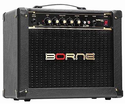 Amplificador Guitarra Borne Vorax 630 25W Preto