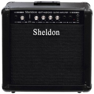 Amplificador Guitarra Sheldon GT-4200 50W