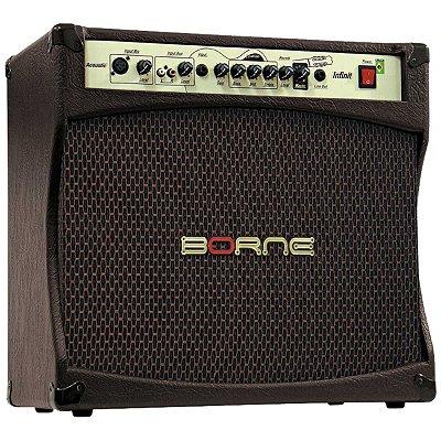 Amplificador Violão Borne Infinit CV-12100 100W - Bivolt