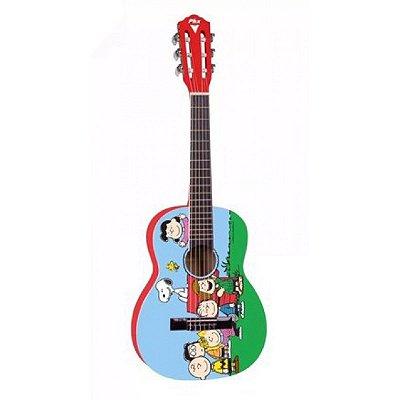 Violão Acústico Infantil Phoenix Snoopy Amigos VIS-A1