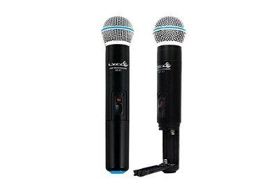 Microfone sem fio Duplo de Mão Lyco UH02MM