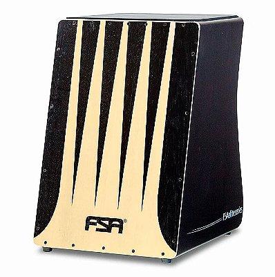 Cajon Eletroacústico FSA Elite Preto FE3301