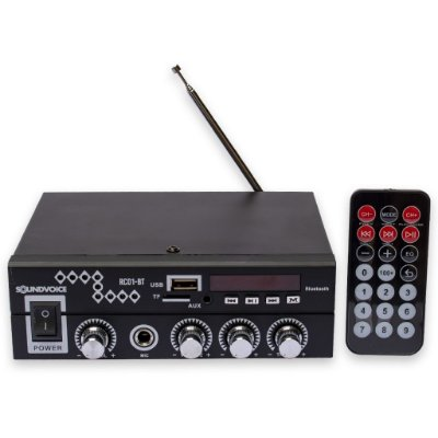 Receiver Soundvoice RC01BT Bluetooth USB 60W