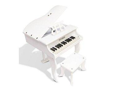 Piano de Calda Turbinho Infantil 30 teclas Branco