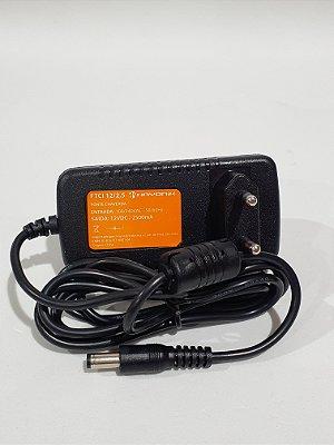 Fonte Hayonik FTCI 12/2,5 12VDC 2,5A Para Uso Geral