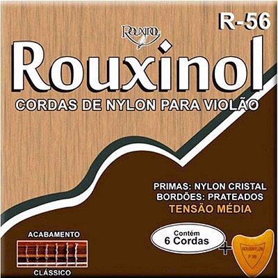 Encordoamento Violão Nylon Rouxinol R-56 Tensão Média