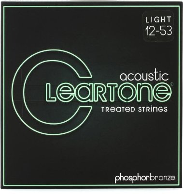 Encordoamento Violão Cleartone Phosphor Bronze Tensão Leve 12