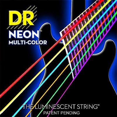 Encordoamento Guitarra DR Neon Cores 010