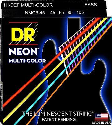Encordoamento Baixo DR Neon Cores