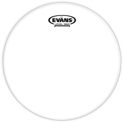 "Pele Evans Clear G12 16"" Transparente TT16G12"