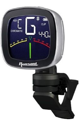 Afinador Digital Cromático de Clip Ronsani RT-Pro