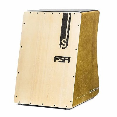 Cajon Eletroacústico FSA Standard FS2504 Cerejeira