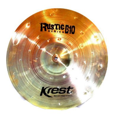 Prato Krest Rustic B10 Medium Crash Ataque 17""