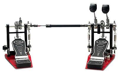 Pedal de Bumbo Odery Privilege PD-902PR Duplo C/ Sapata