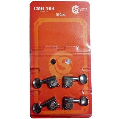 Tarraxa Ukulele Solid Sound CMH-104 Blindada