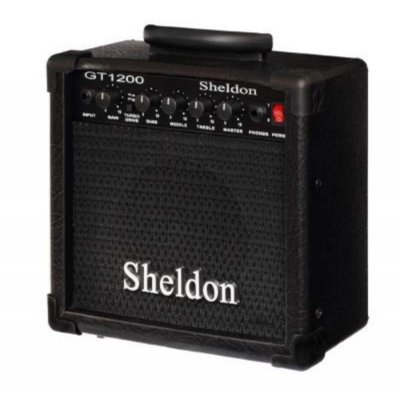 Amplificador Guitarra Sheldon GT-1200 Preto 15W