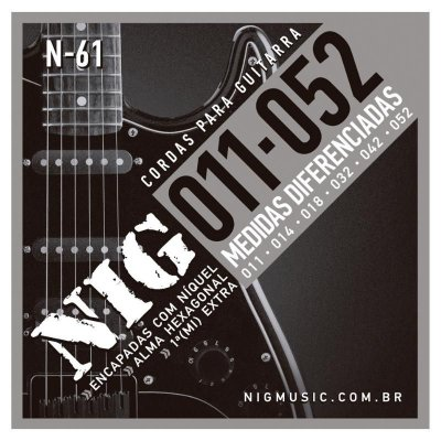 Encordoamento Guitarra NIG N-61 011-052